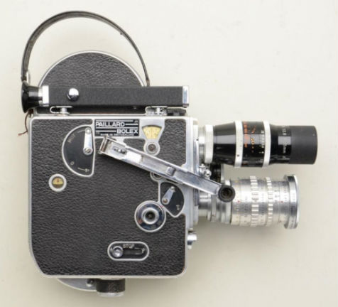 Bolex 8mm movie camera