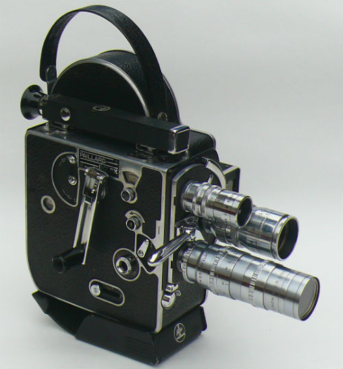 16mm Bolex H16 camera