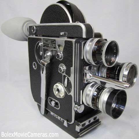 vintage Bolex camera